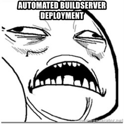 Sweet Jesus Face - automated buildserver deployment