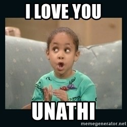 Raven Symone - I LOVE YOU UNATHI