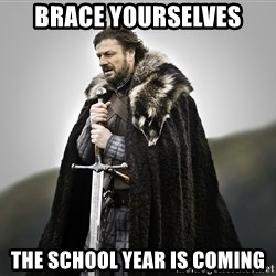 ned stark as the doctor - Brace Yourselves the school year is coming