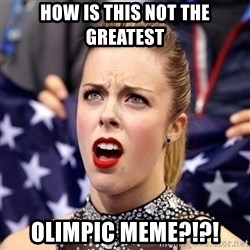 Ashley Wagner Shocker - How is this not the greatest olimpic meme?!?!