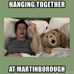 Ted Movie - Hanging together At Martinborough