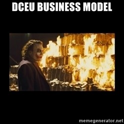 Joker's Message - DCEU business model