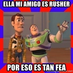 Everywhere - ella mi amigo es RUSHER por eso es tan fea