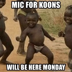 Success African Kid - MIC FOR KOONS WILL BE HERE MONDAY