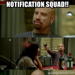From Paris With Love - notification squad!!