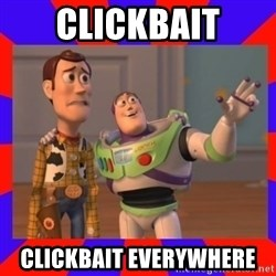 Everywhere - Clickbait Clickbait Everywhere