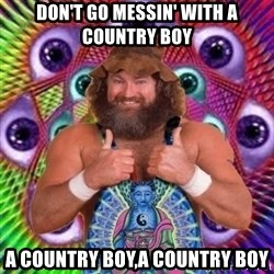 PSYLOL - don't go messin' with a country boy a country boy,a country boy
