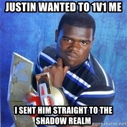 yugioh - justin wanted to 1v1 me i sent him straight to the shadow realm