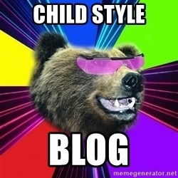 Party Bear - CHILD STYLE BLOG