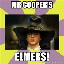 Harry Potter Sorting Hat - Mr Cooper's Elmers!