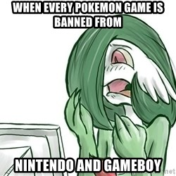 Pokemon Reaction - When every pokemon game is banned from Nintendo and GameBoy