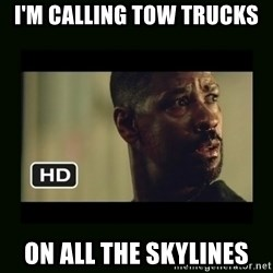 Alonzo Training Day - I'm Calling Tow Trucks On all the skylines