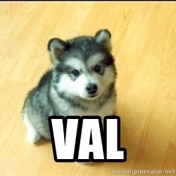 Baby Courage Wolf -  Val