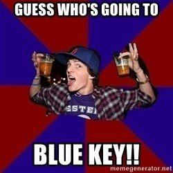 Sunny Student - Guess Who's Going To Blue key!!