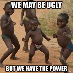 Dancing african boy - We may be ugly but we have the power