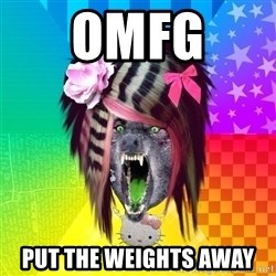 Insanity Scene Wolf - OMFG  PUT THE WEIGHTS AWAY
