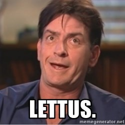 Sheen Derp -  lettus.