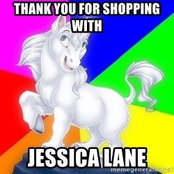 Gayy Unicorn - Thank you for shopping with  Jessica Lane