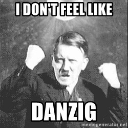 Disco Hitler - I DON't feel like DAnzig
