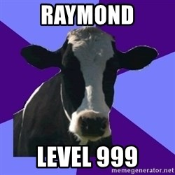 Coworker Cow - Raymond Level 999
