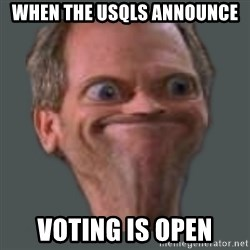 Housella ei suju - When the USQLS announce Voting is open