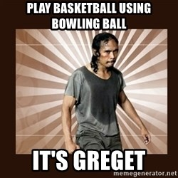 MadDog (The Raid) - PLAY BASKETBALL USING BOWLING BALL IT'S GREGET