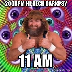 PSYLOL - 200BPM HI-TECH DARKPSY 11 AM