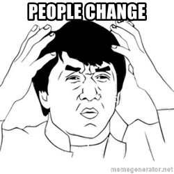 Jackie Chan face - People Change
