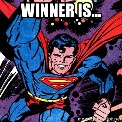 Badass Superman - winner is...
