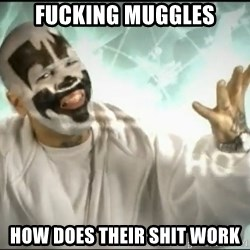 Insane Clown Posse - FUCKING MUGGLES HOW DOES THEIR SHIT WORK