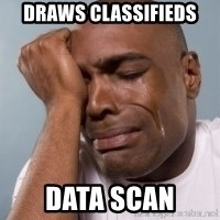 cryingblackman - Draws classifieds Data scan