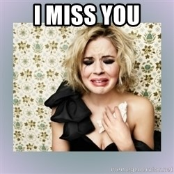 Crying Girl - I miss you
