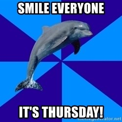 Drama Dolphin - Smile Everyone It's thursday!