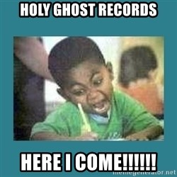 I love coloring kid - Holy Ghost Records Here I Come!!!!!!