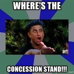 jersey shore - WHERE's THE CONCESSION STAND!!!