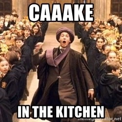 professor quirrell - caaake in the kitchen