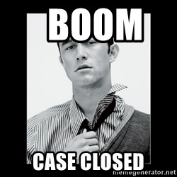Hey Girl (Joseph Gordon-Levitt) -   Boom       case closed