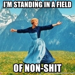 Sound Of Music Lady - I'm standing in a field Of non-shit