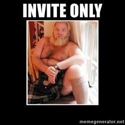Sexy Scotsman - invite only