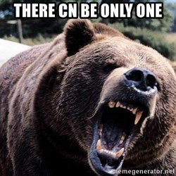 Bear week - There cn be only one