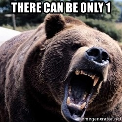 Bear week - there can be only 1