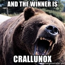 Bear week - and the winner is crallunox