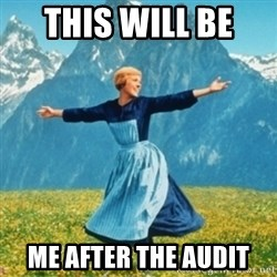 Sound Of Music Lady - THIS WILL BE  ME AFTER THE AUDIT