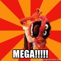 Animal Muppet -  MEGA!!!!!