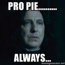 Always Snape - Pro pie.......... Always...