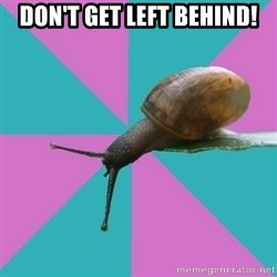 Synesthete Snail - Don't get left behind!
