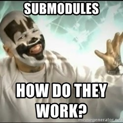 Insane Clown Posse - submodules how do they work?