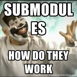 Insane Clown Posse - submodules                         how do they work