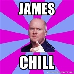 Phil Mitchell - James Chill