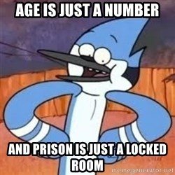 Sexually Forward Mordecai - Age is just a number and prison is just a locked room